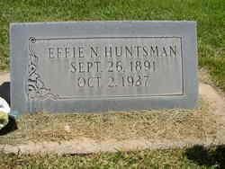 Effie Neil <I>Leavitt</I> Huntsman