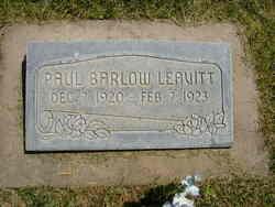 Paul Barlow Leavitt