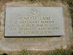 Henry Elmer Zane