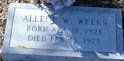 Allene <I>Wilks</I> Weeks