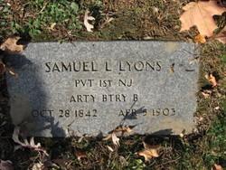 Pvt Samuel L Lyons