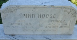 Allie Pansy Van Hoose <I>Record</I> Cagle