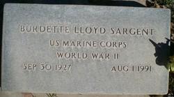 Burdette Lloyd Sargent