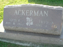 Lillie A. <I>Harrod</I> Ackerman