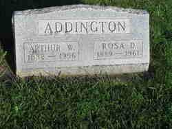 Rosa Dell <I>Betz</I> Addington