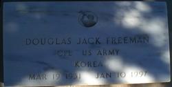 Douglas Jack Freeman