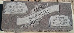 Elizabeth <I>Bracken</I> Barnum