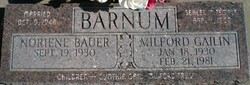 Milford Gailin Barnum