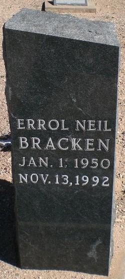 Errol Neil Bracken