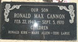 Ronald Max Cannon