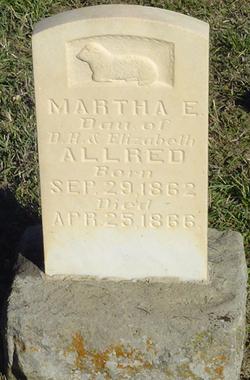 Martha E Allred