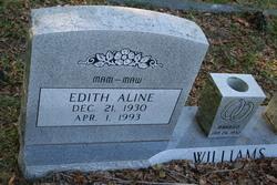 Edith Aline <I>Sanders</I> Williams