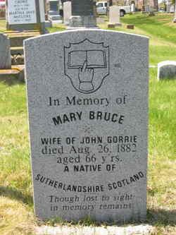 Mary <I>Bruce</I> Gorrie