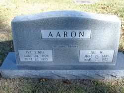 "Joseph Washington ""Joe"" Aaron"