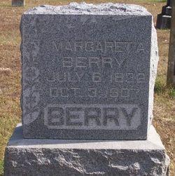 Margaret Ann Seveny <I>Reeves</I> Berry