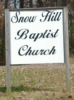 Snow Hill Baptist Cemetery