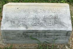 Marshall Wilborn Maynor