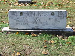 Eva Deliah <I>Gathright</I> Billings