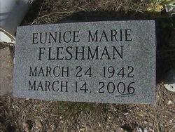 Eunice Marie <I>Taylor</I> Fleshman