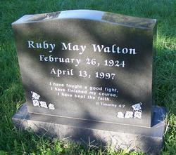Ruby May Walton