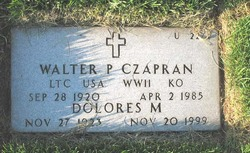 Walter P Czapran
