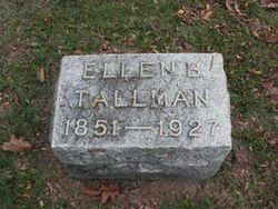 Ellen <I>Burgess</I> Tallman