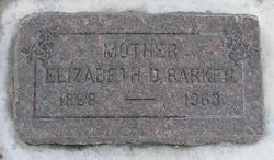 Elizabeth <I>Duncombe</I> Barker