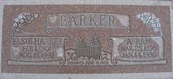 Elsie <I>Harker</I> Barker