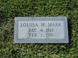 Louisa M. <I>Murrell</I> Mark
