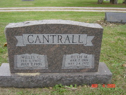 Ruth M <I>McKinley</I> Cantrall