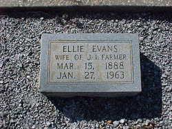 Ellie Burnice <I>Evans</I> Farmer