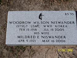 Woodrow Wilson Niswander