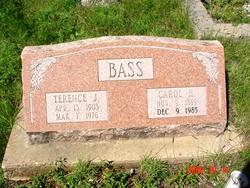 Carol Harriett <I>Fetz</I> Bass