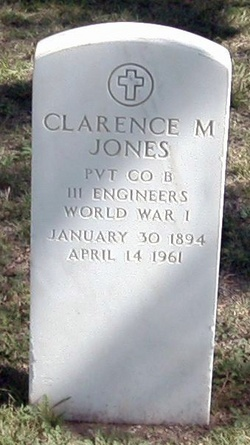 Pvt Clarence Mark Jones