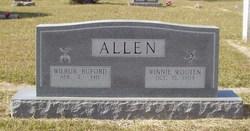 Winnie Wilma <I>Wooten</I> Allen