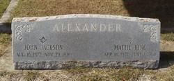 John Jackson Alexander