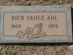 Rick Vance Ahl
