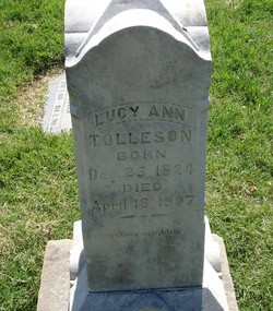 Lucy Ann <I>Elkins</I> Tolleson