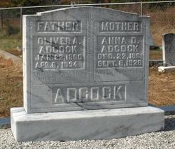 Anna Odessa <I>Malcom</I> Adcock