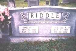 Chloie <I>Rogers</I> Riddle