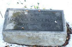 Florence Cordelia <I>Lance</I> Becker