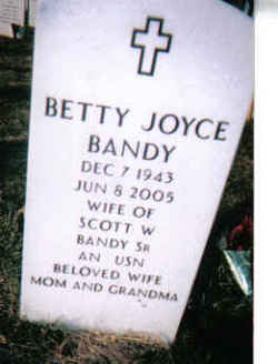 Betty Joyce <I>Scott</I> Bandy