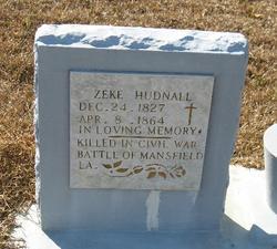 "Ezekiel T. ""Zeke"" Hudnall"