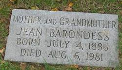 Jean <I>Barondess</I> Zuckerman