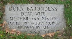 Dora <I>Greenberg</I> Barondess