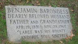 Benjamin Barondess