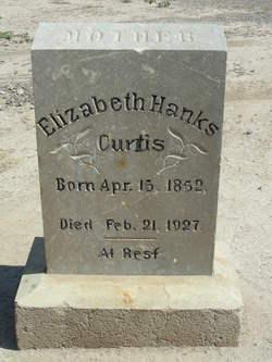 Elizabeth <I>Hanks</I> Curtis