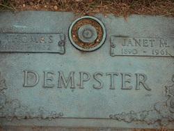 Janet <I>McLean</I> Dempster