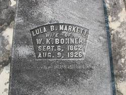 Lula B. <I>Markett</I> Bonner