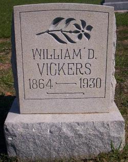 William D Vickers